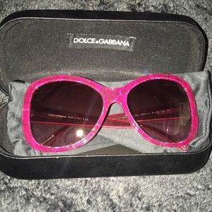 Pink D&G Sunglasses
